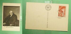 DR WHO 1937 FRANCE PARIS LOUVRE MUSEUM ART POSTCARD g02663