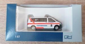 Rietze 51935 - 1/87 Volkswagen T5 Protection Civile Drk Schmalkalden - Neuf