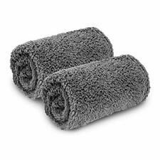 2 Pack Premium Fluffy Fleece Dog Blanket, Soft and Warm Pet Throw Blankets Bed