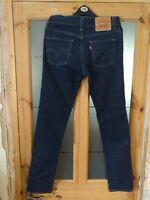 Men's LEVI'S 510 Dark Blue Super Skinny Stretch Denim Jeans - Size W30 L30