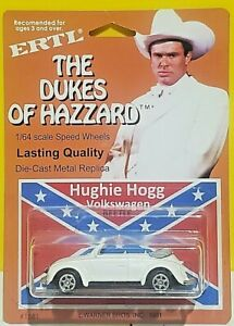 mexican CUSTOM ERTL HUGHIE HOGG VW VOLKSWAGEN BEETLE THE DUKES OF HAZZARD WELLY