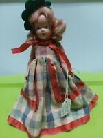 """Vintage Nancy Ann Storybook Dolls ~ #92 Autumn 5.5"""" H.P."""