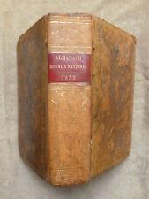ALMANACH ROYAL ET NATIONAL POUR L'AN 1833 Présenté à la Famille Royale