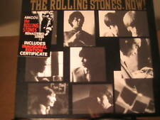 ROLLING STONES NOW 1ST EDITION INAUGURAL CERTIFICATE HYBRID SACD RARE SEALED