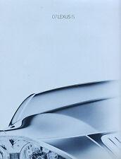 2007 Lexus IS IS250 IS350 Sales Brochure Book