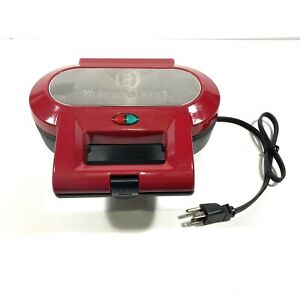 Wolfgang Puck Electric Puff Pastry Pie Maker Model BPM00025 Cookware 120V Red