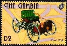 1896 FORD Quadricycle Cassic Motor Car Stamp