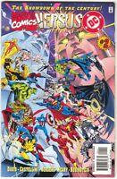 Marvel Versus DC 2 1996 NM 9.4 Wolverine Batman X-Men Superman Spider-Man