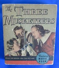 1935 THE THREE MUSKETEERS by Alexandre Dumas Whitman Pub SC Softcover VG