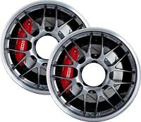 Wheelchair Spoke Guard STICKER CHROME WHEEL effect