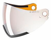 uvex - hlmt 300 visor ess - Farbe: litemirr. silver/goldlite - single lens S3