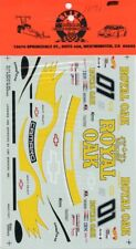 Slixx Decals 1:24 1:25 #01 Royal Oak Camaro Scott Pruett Trans Am Car #1071