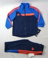 adidas Baby Boys' set, Hyper Sports Tracksuit and pants Set size 12 months