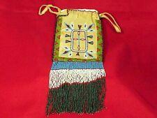 Antique Apache Beaded Bag