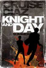 KNIGHT AND DAY Movie POSTER 27x40 C Tom Cruise Cameron Diaz Maggie Grace Peter