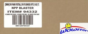 2019 Panini Donruss Optic Football EXCLUSIVE Factory Sealed 20 Box Blaster CASE