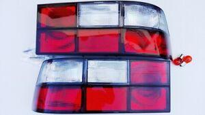 CLEAR/RED Porsche 924 944 Carrera Turbo Cabrio S S2 Cup GT Rear Lights