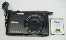 Nikon Coolpix S3300 16.0 MP Digital Camera - Black