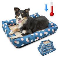 Pet Dog Cat Bed Puppy Cushion House Pet Soft Warm Kennel Dog Mat Blanket S-XL