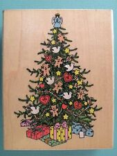 Decorated Christmas Tree, Large HERO ARTS Rubber Stamp