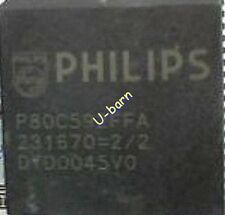 PHILIPS P80C592FFA PLCC68 8-bit microcontroller with