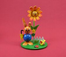Kugelhasen mit Blume  H12cm#4