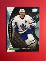 2018-19 UD Engrained Synthesis #S-30 John Tavares Toronto Maple Leafs Insert
