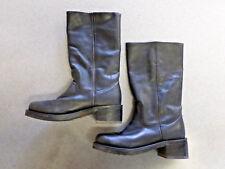 "Durango ""RD2400"" black leather square toe boots, Women's 6 M"