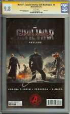MARVEL'S CAPTAIN AMERICA: CIVIL WAR PRELUDE #3 CGC 9.8 WHITE PAGES ID: 4176