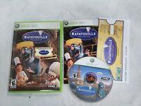 Ratatouille (Microsoft Xbox 360, 2007) Video Game Free Fast Shipping