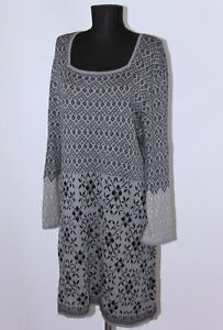Gudrun Sjoden womens grey dress Size XXL