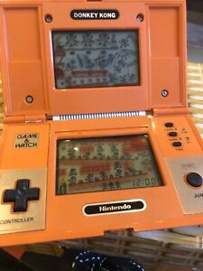 Nintendo Donkey Kong Game and Watch 1982 - Good Condition Screen