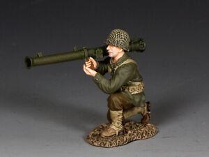 "KING & COUNTRY DD312 WWII U.S. ARMY ""KNEELING BAZOOKA MAN""..INTO THE REICH  MIB"