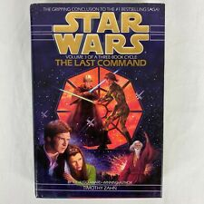 Star Wars The Last Command Hardcover by Timothy Zahn 1st Printing/1st Edition