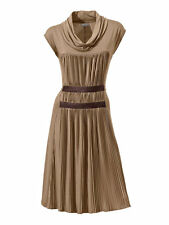 Jersey-Kleid Versandhaus. Cognac. NEU!!! KP 69,90 �'� %25SALE%25