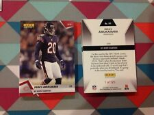 Prince Amukamara Bears Red version 2018 Panini Instant NFC North Champions