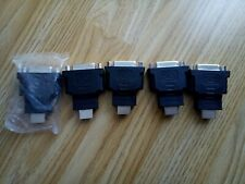 5x DVI Adapter Female HDMI Male Adapter Converter HDTV LCD