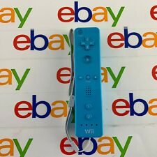 Official Blue Nintendo Wii Remote Controller