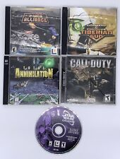 PC Games Star Wars Galaxies Total Annihilation C&C Tiberian Sun X-Wing Alliance