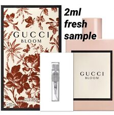 GUCCI Bloom 2ml Spray Perfume Sample Eau De Parfum Jasmine Tuberose Authentic🌹