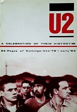 U2 - A CELEBRATION OF THEIR HISTORY - 64 PAGES OF CUTTINGS LATE '79 - EARLY '83