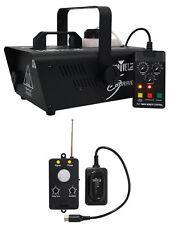 Chauvet DJ H1200 Hurricane 1200 Fog Machine+Remote+Transmitter Motion Sensor