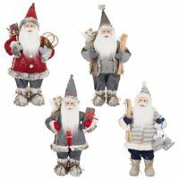 60cm Standing Christmas Santa Claus Heritage Xmas Decorations Presents Tradition