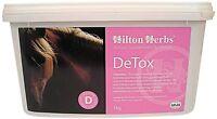 HILTON HERBS DETOX HORSE SUPPLEMENT 1KG & 2KG FOR LIVER & KIDNEY FUNCTION