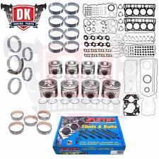 2008-2010 Ford 6.4 Powerstroke Diesel Complete Rebuild Overhaul Kit w/ ARP Studs
