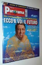 RIVISTA PANORAMA 11 APRILE 2002-15 1879-BILL GATES TELEFONINI COSTA SMERALDA