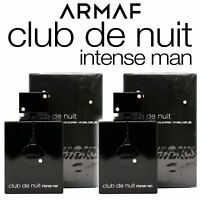 2 PACK - Club De Nuit Intense by Armaf, 3.6oz / 105ML EDT - BRNAD NEW SEALED BOX