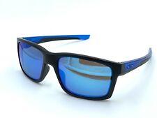 Oakley Mainlink OO9264-2557 Men's Sunglasses Black/ Blue DAMAGED LENSES