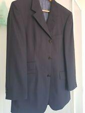 mens hugo boss sports jacket / blazer blue  super 100 astor lustro uk 40 eu 50