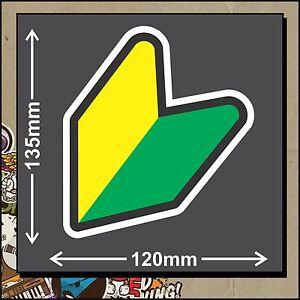 WAKABA LEAF JDM Vinyl Sticker Decal Turbo Drift Car Bike - Made is Australia